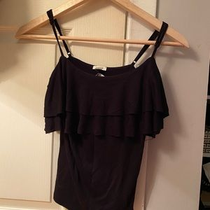 Garage Ruffled Top